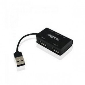 Hub USB approx! APPHT8B SD/Micro SD Windows 7 / 8 / 10 USB 2.0