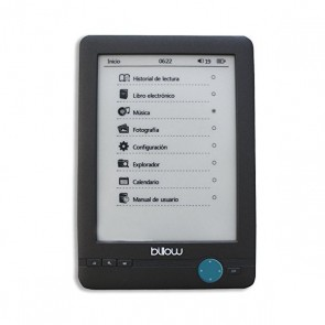 "eBook Billow MRELEE0101 E03T 6"" E-Ink 4 GB Nero"