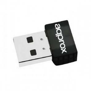 Adattatore USB Wifi approx! APPUSB600NAV2 Nero