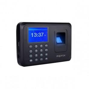 """Sistema di Controllo di Accesso Biometrico approx! appATTENDANCE01 2,4"""" TFT USB Nero"""