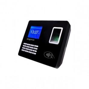 """Sistema di Controllo di Accesso Biometrico approx! APPATTENDANCE02 2,8"""" TFT USB LAN Nero"""