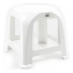 Sgabello Step Plastica Bianco (34 X 34 x 31 cm)