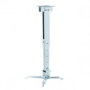 Supporto da Soffitto Inclinabile e Girevole per Proiettore iggual STP02-S IGG314579 -22,5 - 22,5° -15 - 15° Alluminio Bianco