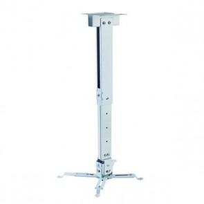 Supporto da Soffitto Inclinabile e Girevole per Proiettore iggual STP02-M IGG314586 -22,5 - 22,5° -15 - 15° Alluminio Bianco