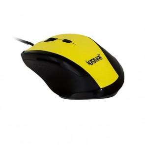 Mouse Ottico Mouse Ottico iggual IGG314975 WORK-1 1600 dpi USB 6 D Giallo