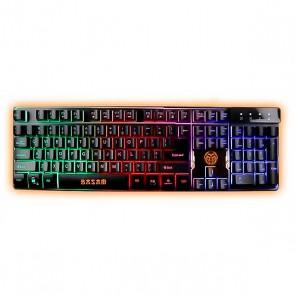 Tastiera per Giochi iggual IGG315781 LED RGB Nero