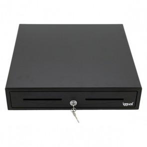 Cassetto Portamonete iggual IRON-50 Nero