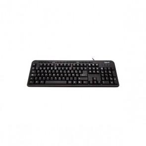 Tastiera iggual CK-BASIC-120T QWERTY USB Nero