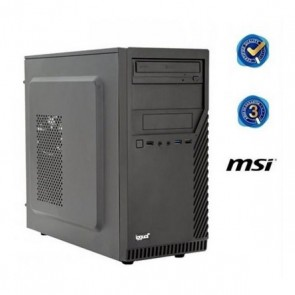PC da Tavolo iggual PSIPCH422 i5-8400 4 GB RAM 500 GB HDD Nero