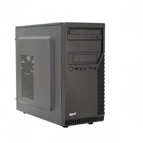 PC da Tavolo iggual PSIPCH423 i3-8100 8 GB RAM 1 TB HDD W10 Nero