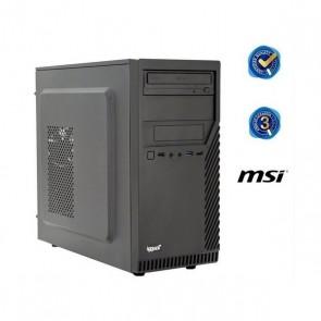 PC da Tavolo iggual PSIPCH425 i3-8100 8 GB RAM 240 GB SSD W10 Nero
