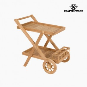 Carrello da Portata Teak (55 x 85 x 83 cm) by Craftenwood