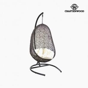 Seduta sospesa con cuscino (Ø 100 cm) Nero