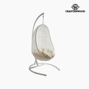 Seduta sospesa (ø 100 cm) Bianco