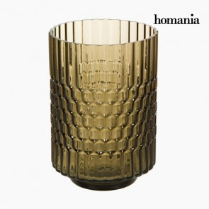 Vaso Vetro Marrone - Crystal Colours Deco Collezione by Homania