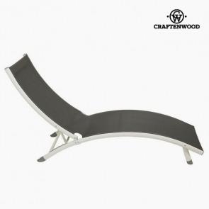 Lettino (180 x 55 x 25 cm) Alluminio Grigio