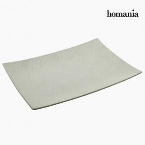Centrotavola Ceramică (49 x 36 x 6 cm) by Homania