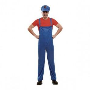 Costume per Adulti Super Plumber (M/l)