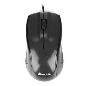 Mouse Ottico Mouse Ottico NGS Black Mist 800 dpi Nero