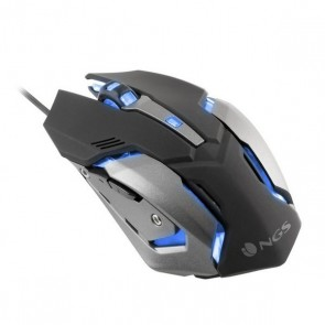 Mouse Gaming con LED NGS GMX-100 USB 2400