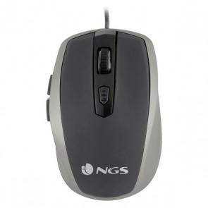 Mouse Ottico Mouse Ottico NGS Tick Silver TICKSILVER USB Argento