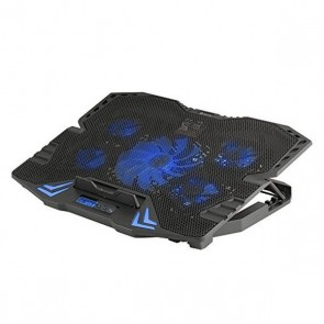 """Supporto per Portatile con Ventilatore NGS GCX-400 GCX-400 17"""" LED Azzurro"""