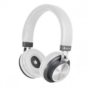 Auricolari Bluetooth con Microfono NGS ARTICAPATROLWHITE Bianco