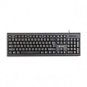 Tastiera Qwerty in Spagnolo NGS FUNKYV2 USB Nero