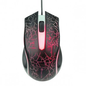Mouse Gaming NGS GMX-115 1200 dpi LED USB Nero