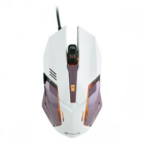 Mouse Gaming con LED NGS GMX-100 2400 dpi LED Bianco Rosa
