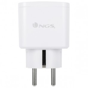 Presa Intelligente NGS Plug Loop WiFi 3680W Bianco