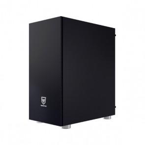 Casse Semitorre Micro ATX / Mini ITX / ATX Nfortec Caronte Pro RGB Nero