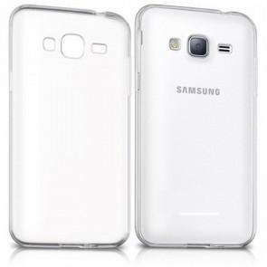 Custodia per Telefono Cellulare Samsung 222672 Samsung J3 Gel Newark Trasparente