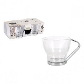 Set di Tazze da Caffè Glassic 100 cc Geam (4 Pcs)