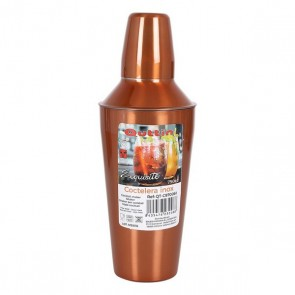 Shaker per cocktail Quttin Exquisite 750 ml Bronce