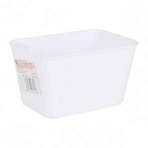 Contenitore per Sistemare Multiuso Jano Flessibile Bianco (13,5 x 9 x 7,5 cm)