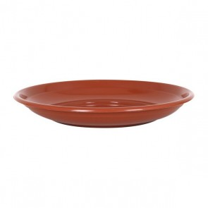 Piatto per Vaso Sino Marrone (ø 28 cm)