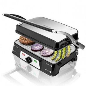 Grill a Contatto Cecotec Rock'n grill 1500 Take&Clean 1500W Nero Argentato