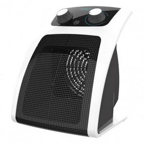 Riscaldamento Ceramico Elettrico Cecotec Ready Warm 6050 Ceramic Pisa 1500W Nero Bianco