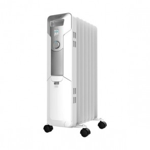 Radiatore a Olio (7 elementi) Cecotec Ready Warm 5600 Space 1500W Bianco
