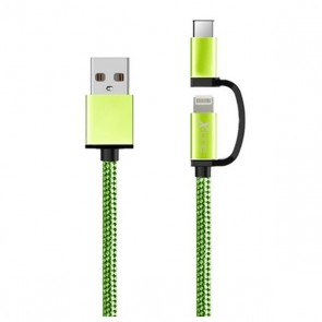 Caricabatterie USB per iPad/iPhone Ref. 101110 Verde