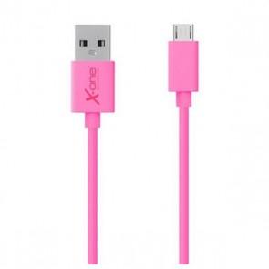 Cavo Micro USB a USB Ref. 101271 Fucsia