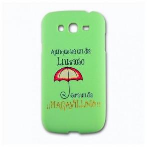 Cusodia per Cellulare Ref. 130448 Huawei P9 TPU Pioggia