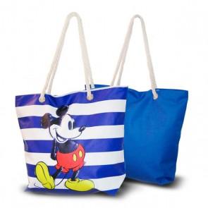 Borsa da Mare Mickey Mouse Azzurro (33,5 x 43 cm)