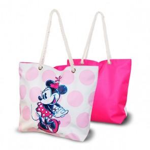 Borsa da Mare Minnie Mouse Rosa (33,5 x 43 cm)