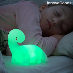 Lampada Dinosauro LED Multicolor Lightosaurus InnovaGoods