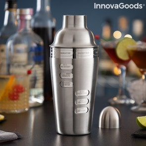 Shaker con Ricette di Cocktail Incluse Maxer InnovaGoods