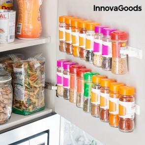 Sistema per Organizzare Spezie Adesivo e Divisibile Spicer X20 InnovaGoods