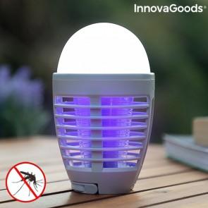 Lampada Antizanzare Ricaricabile con LED 2 in 1 Kl Bulb InnovaGoods