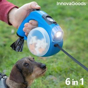 Guinzaglio Retrattile per Cani 6 in 1 Compet InnovaGoods